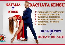 Bachata weekend great island Natalia Kriss Juraszek warsztaty weekend