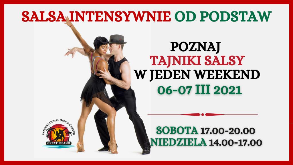 salsa w jeden weekend intensywny kurs great island szkoła tańca łódź