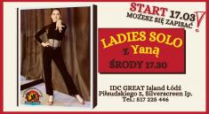 Ladies Latino solo start great island łódź szkoła tańca